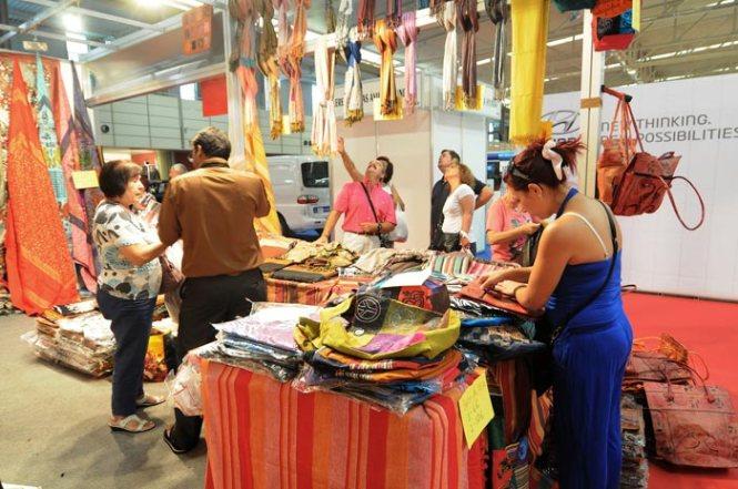 Stand de venta directa en la pasada edición de la Feria de Muestras