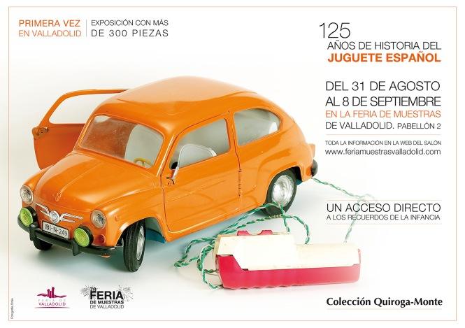 Cartel Expo Juguetes Valladolid