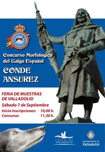 Cartel Monografico Galgo Españo Valladolidl