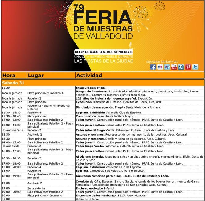 FIM 2013- Programa Actividades por día.xls